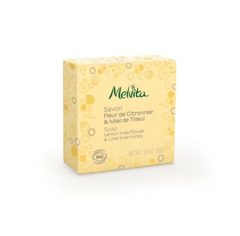 檸檬萊姆花蜜沐浴皂100g,NT400