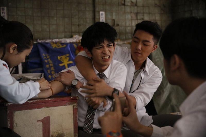 蔡凡熙在新片中飾演班上老大段人豪