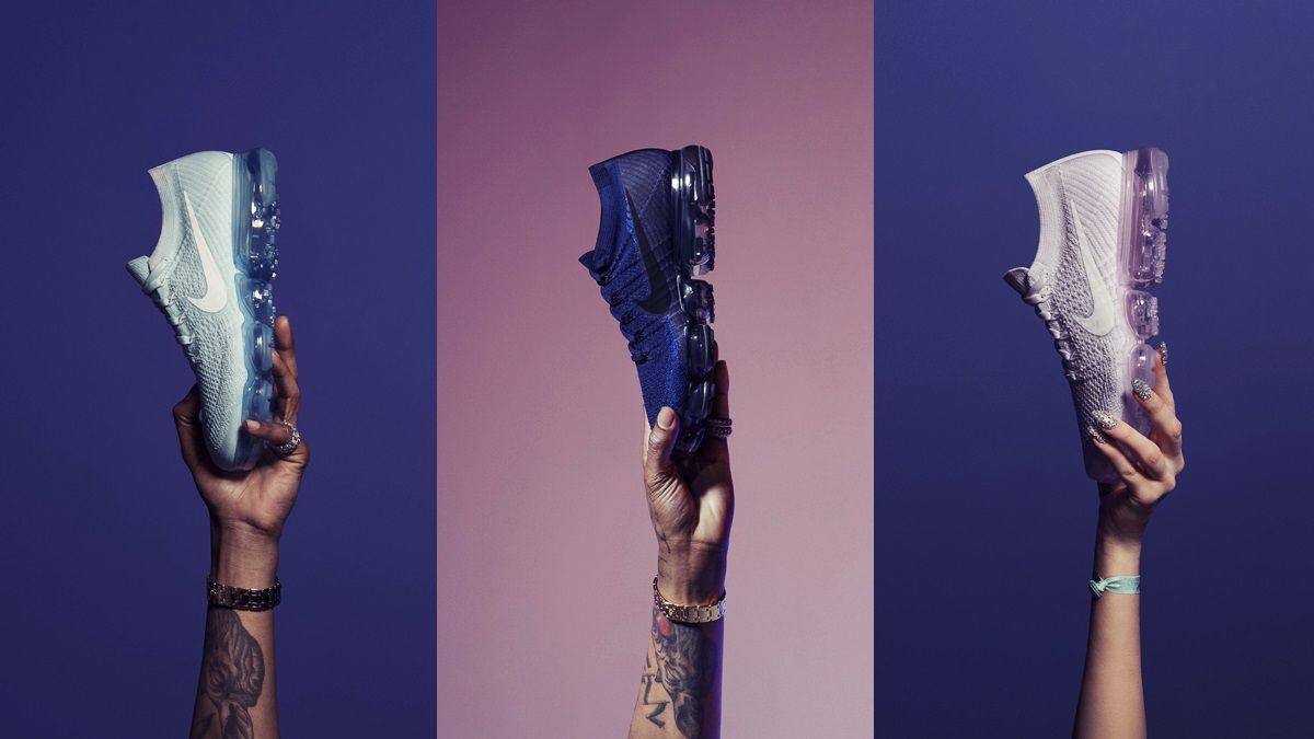 把黎明到夕陽的美麗顏色穿在腳上!Nike Air VaporMax一口氣推出五款