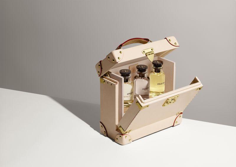 可裝三瓶香水的旅行箱