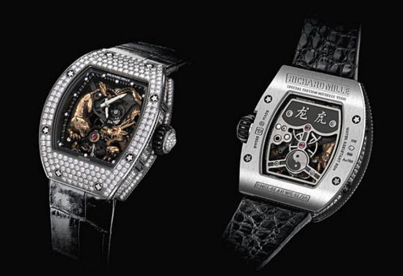 RM 51-01楊紫瓊龍虎陀飛輪腕錶