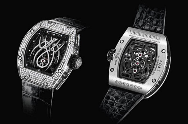 RM 19-01 Natalie Portman陀飛輪腕錶