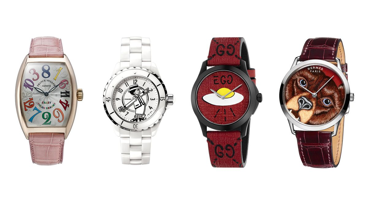 【編輯帶路】用不按牌理出牌的錶款設計 大聲宣揚你的不正經哲學!