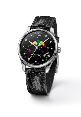 G-Timeless 系列月相腕錶,Gucci。