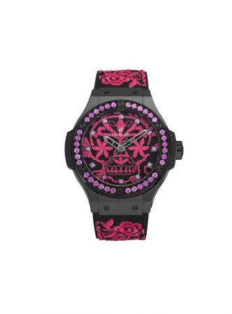 Big Bang Broderie Sugar Skull,Hublot