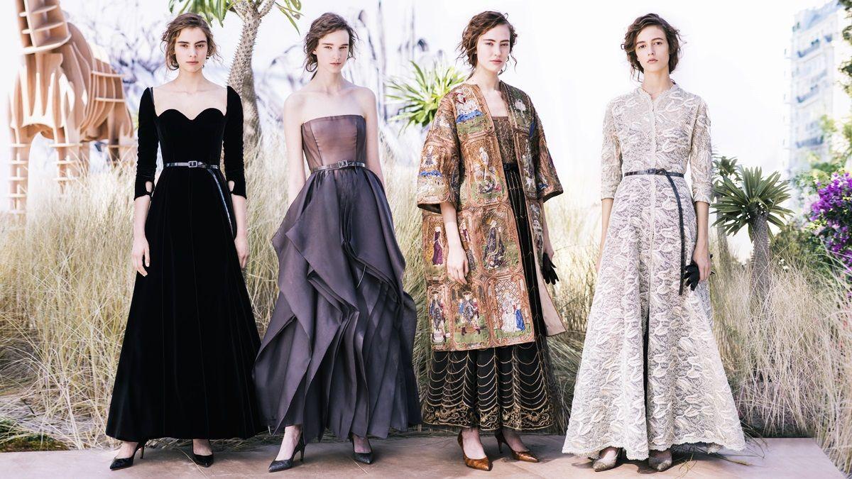 跟著Dior魔幻地圖探索世界!2017秋冬高訂大秀打造時髦女性探險家