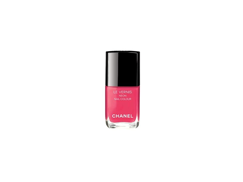 香奈兒Chanel時尚霓虹指甲油(桃色吸引力)13ml,NT850。