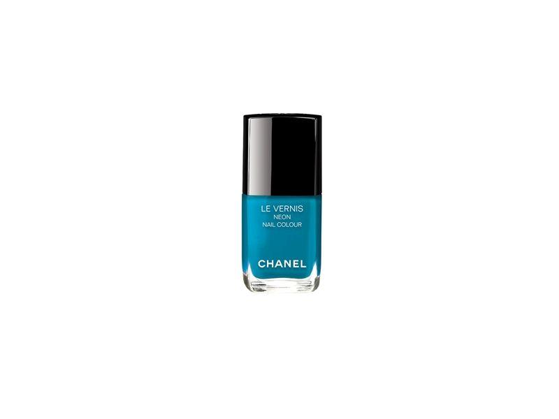 香奈兒Chanel時尚霓虹指甲油(湛藍電流)13ml,NT850。