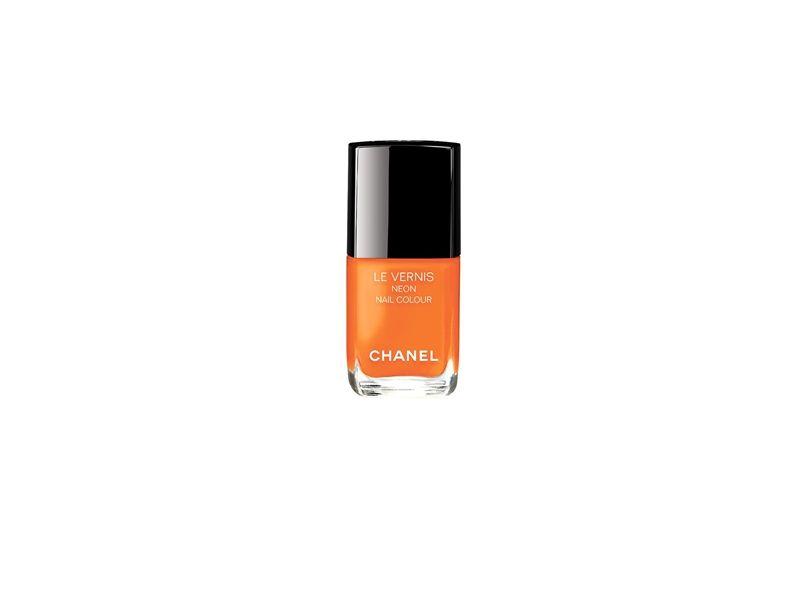 香奈兒Chanel時尚霓虹指甲油(音速亮橘)13ml,NT850。