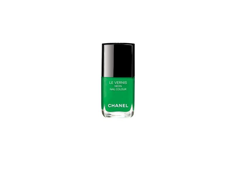 香奈兒Chanel時尚霓虹指甲油(奇幻鮮綠)13ml,NT850。