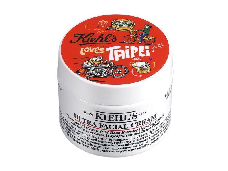 2017 Kiehl's Loves Taipei 冰河醣蛋白保濕霜-城市限量版50ml,NT1,350。