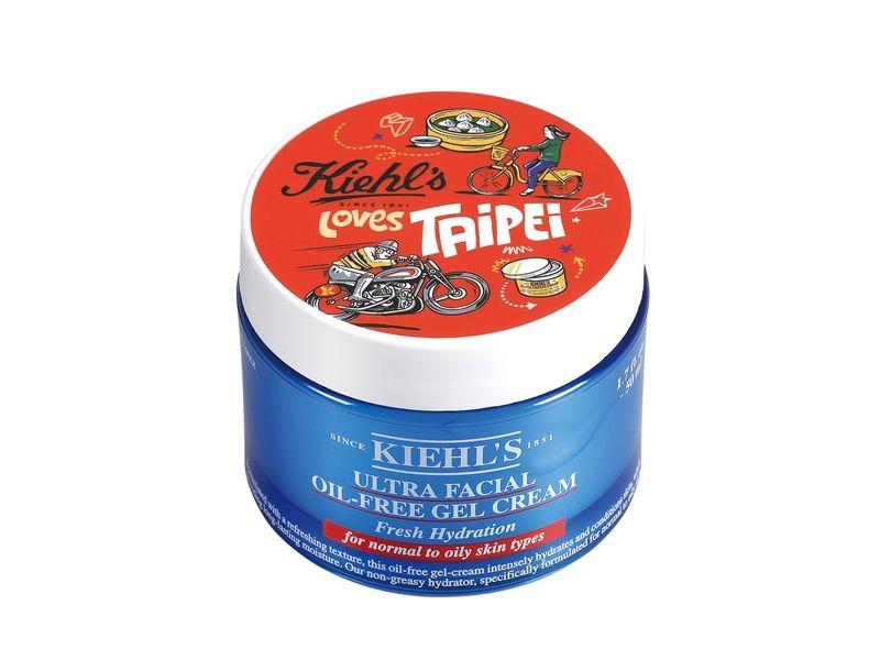 2017 Kiehl's Loves Taipei 冰河醣蛋白無油清爽凝凍-城市限量版50ml,NT1,350。