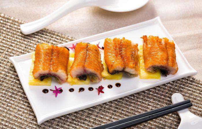 台北國賓粵菜廳夏季新菜-檸蜜脆皮燒鱔
