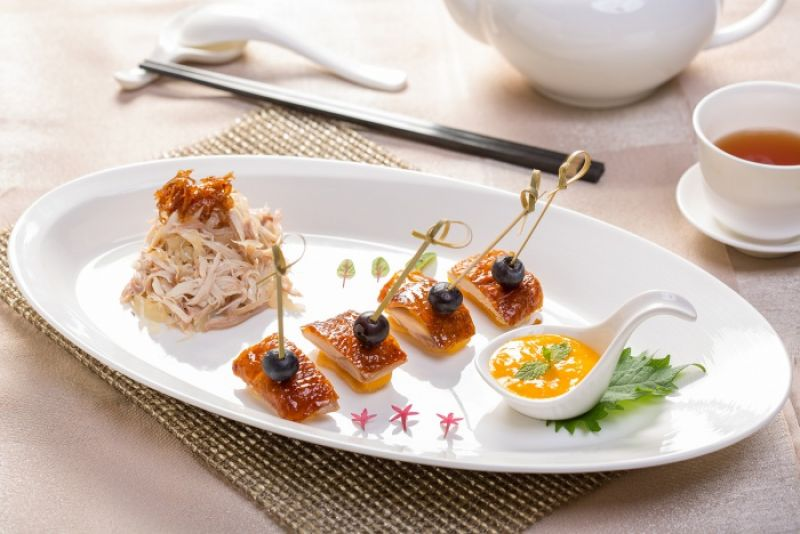 台北國賓粵菜廳夏季新菜-香芒雞件佐沙律