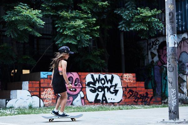 Sky: 滑板讓我覺得自由,好像可以變成任何東西,無所不能。