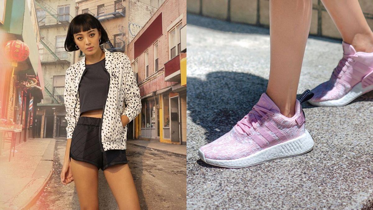 NMD推出櫻花粉球鞋、全新服裝系列!潮模李函的推薦清單大公開