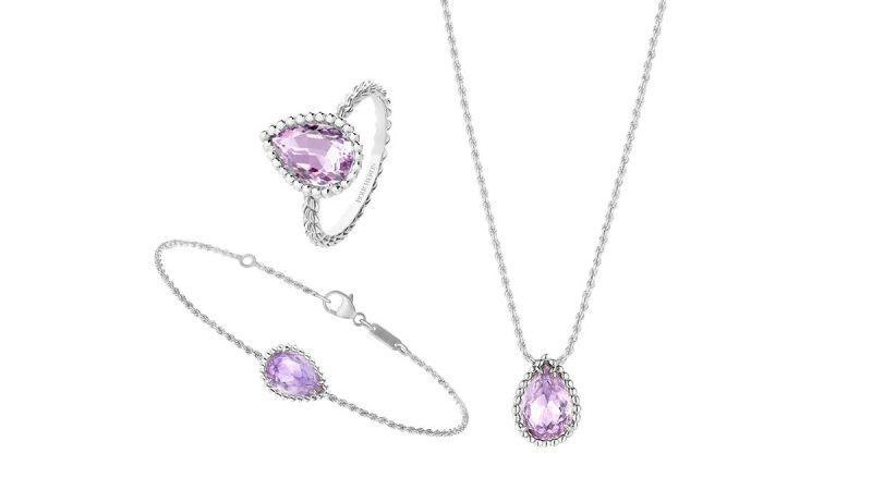 浪漫紫水晶帶來夢幻清新的柔和之美