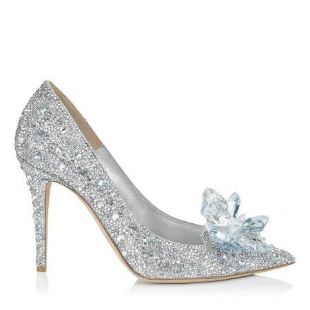 鑲崁水晶高跟鞋 $157,800