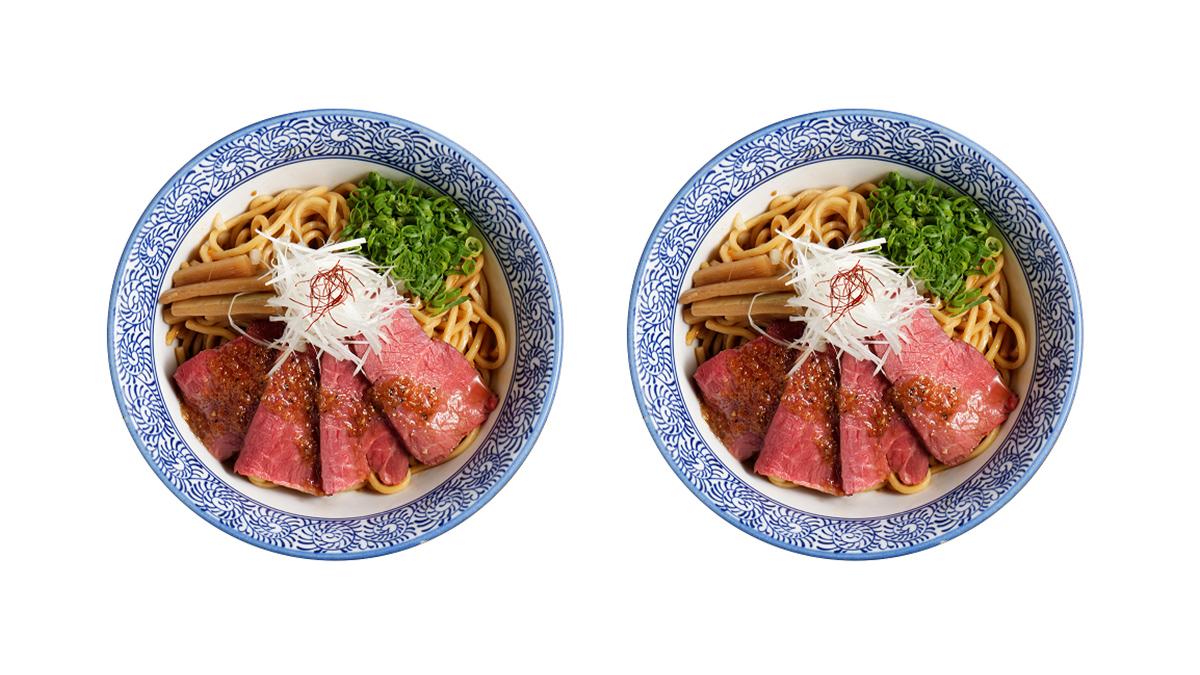 每日限量25份!選用美國頂級翼板牛肉這碗「嫩焙牛辛拌麵」一定要吃到