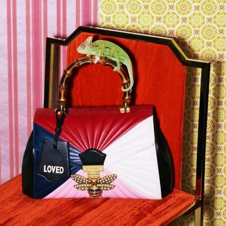 Queen Margaret 立體蜜蜂裝飾竹節提包, NT$ 120,500