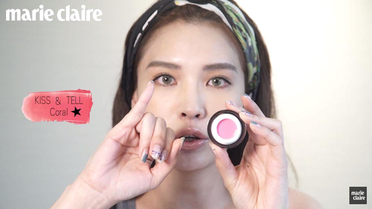 有請彩妝師Zoe示範GLAMGLOW噘噘嘴潤色唇霜!只需手指就能疊擦時髦染唇妝!
