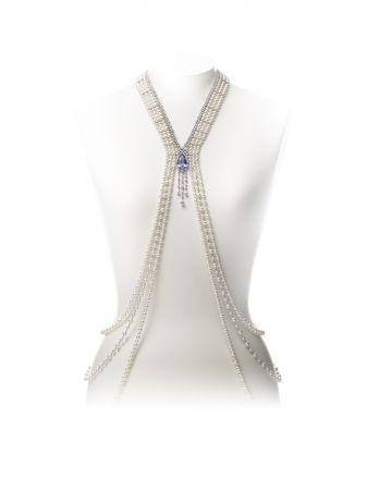MIKIMOTO 頂級珠寶系列剛玉及日本Akoya真珠Body Jewelry