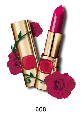 巴黎萊雅 純色訂製唇膏 玫瑰風暴系列,4.2g,NT$385(608保加利亞玫瑰)