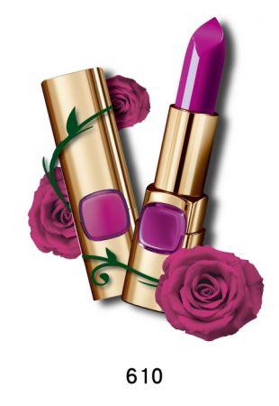 巴黎萊雅 純色訂製唇膏 玫瑰風暴系列,4.2g,NT$385(610香檳玫瑰)