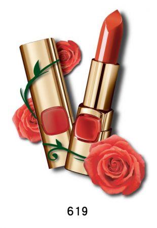 巴黎萊雅 純色訂製唇膏 玫瑰風暴系列,4.2g,NT$385(619誘惑野玫)