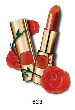 巴黎萊雅 純色訂製唇膏 玫瑰風暴系列,4.2g,NT$385(623微醺玫瑰)