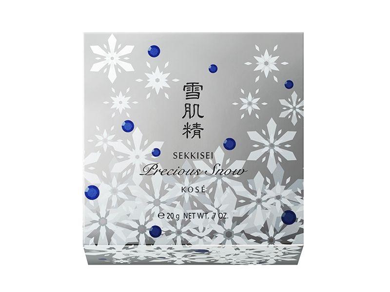 高絲雪肌精雪耀魔幻蜜粉外盒。