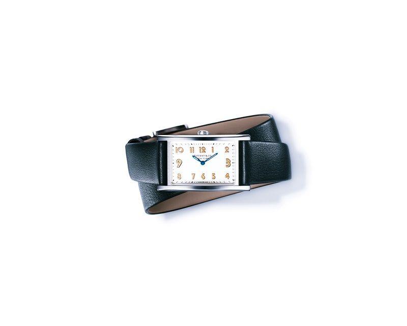 Tiffany East West 白色錶盤迷你腕錶 NT$120,000