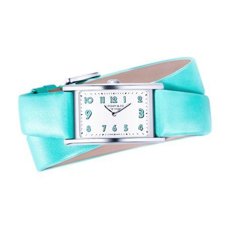 Tiffany East West 白色錶盤Tiffany Blue錶帶迷你腕錶 NT$120,000
