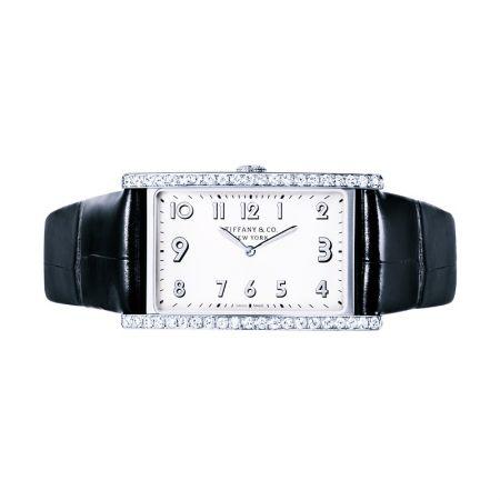 Tiffany East West 鑲鑽中型腕錶 NT$238,000