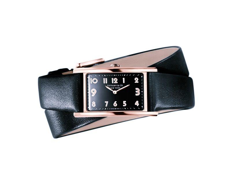Tiffany East West 黑色錶盤迷你腕錶  NT$258,000