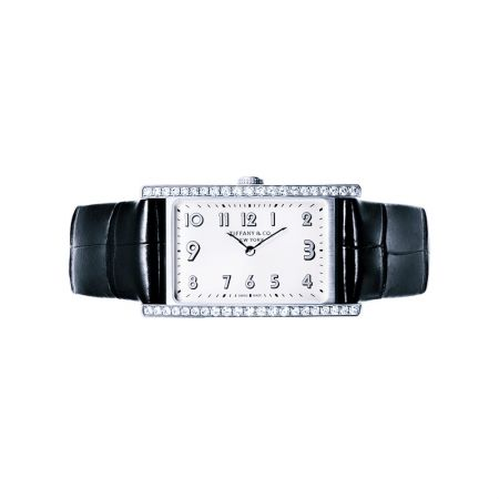 Tiffany East West 鑲鑽迷你腕錶 NT$203,000