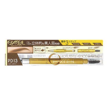 EXCEL3合1持久造型眉筆13亞麻灰,NT520