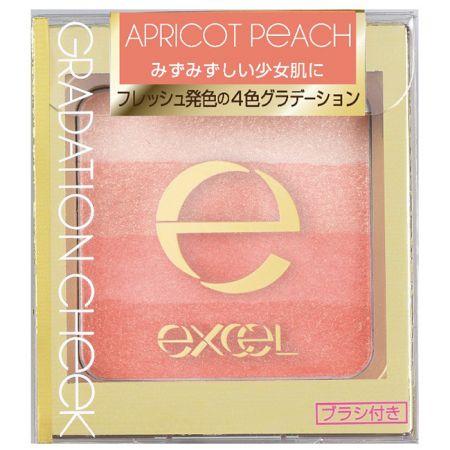 EXCEL漸層塑型腮紅02糖霜杏桃,NT645