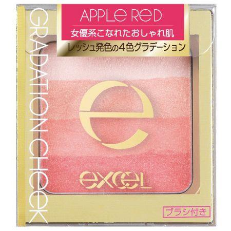 EXCEL漸層塑型腮紅05熾愛紅蘋,NT645