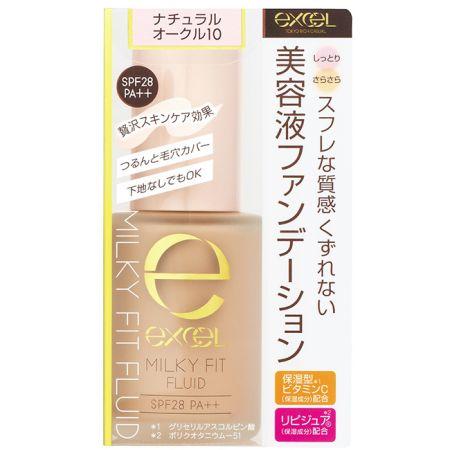 EXCEL水潤精華粉底液01白晢膚色,NT680