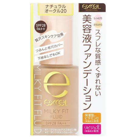 EXCEL水潤精華粉底液02自然膚色,NT680
