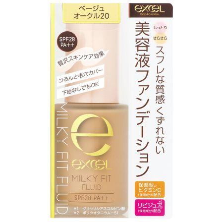 EXCEL水潤精華粉底液03健康膚色,NT680