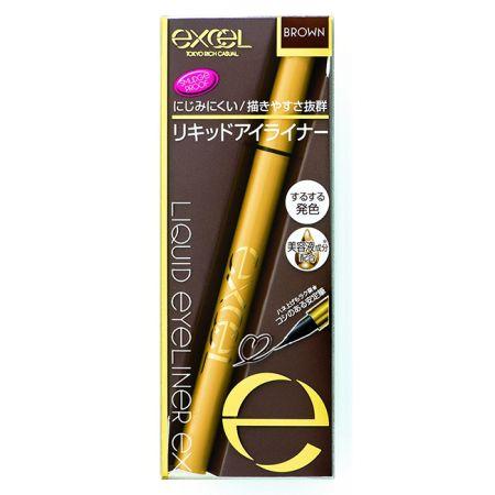 EXCEL持久眼線液02棕色,NT430