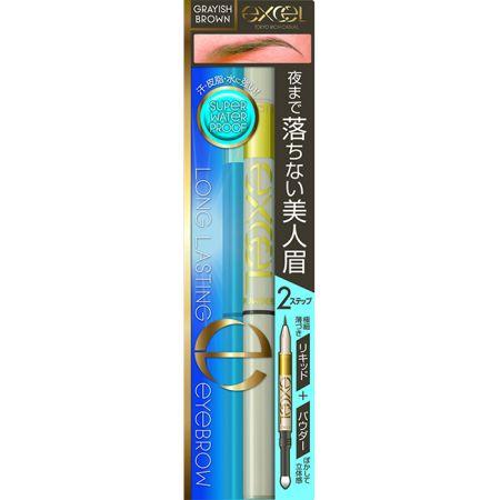 EXCEL2合1持久眉彩筆03炭灰棕,NT500
