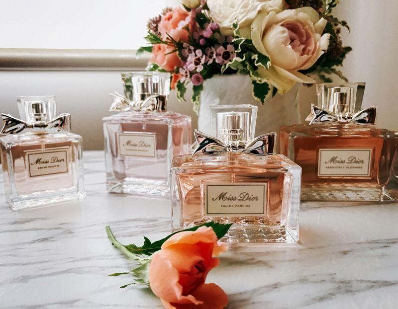 Miss Dior香氛家族