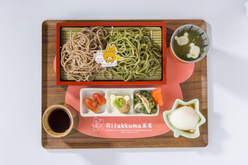 日式涼麵定食