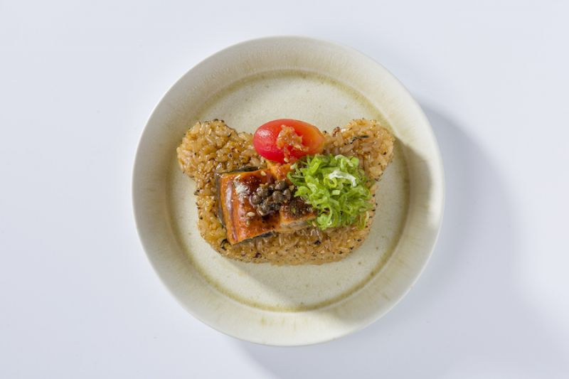 蒲燒鰻魚烤飯糰