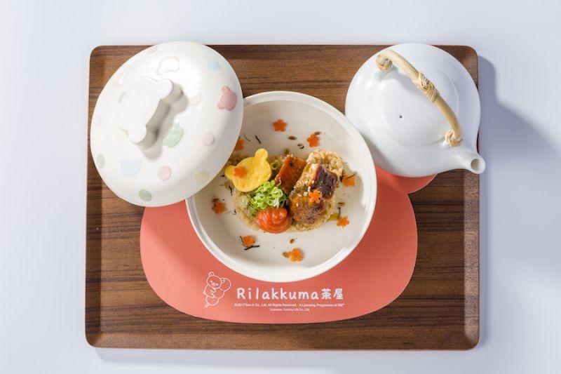 蒲燒鰻魚茶泡飯