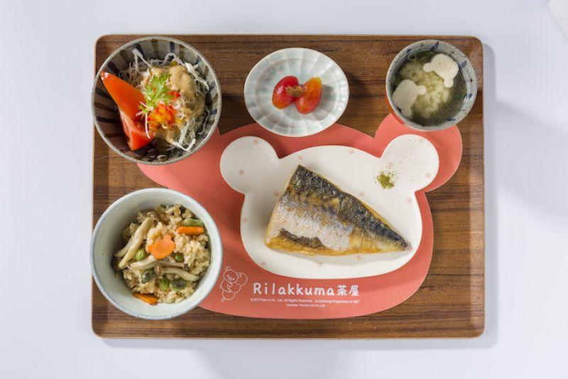 鹽烤鯖魚定食