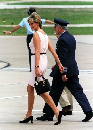 Princess Diana with Lady Dior